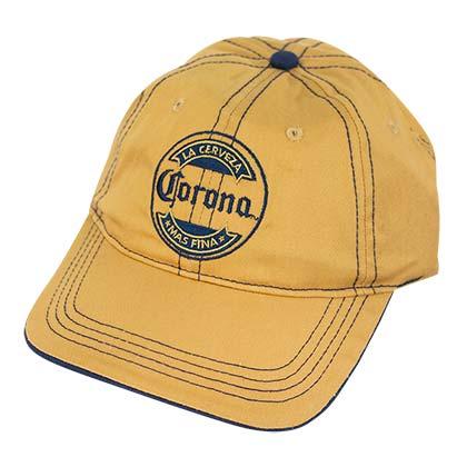 Corona Extra Gold Adjustable Mas Fina Hat