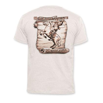 Corona Extra Beige Men's Orgullosamente Mexicana T-Shirt