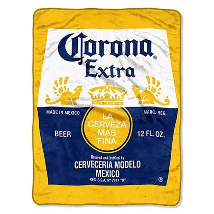 Corona Extra Super Plush Throw Blanket