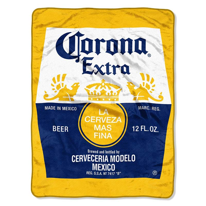 Corona Extra Super Plush Throw Blanket