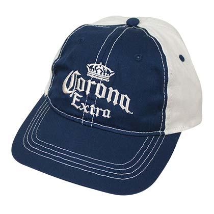 Corona Extra Blue and White Baseball Hat