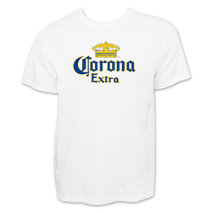 Corona Extra Men's Crown Logo T-Shirt