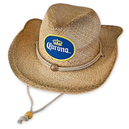 Corona Extra Straw Cowboy Hat