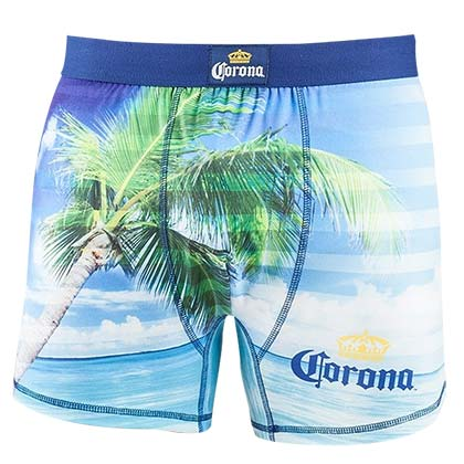 Corona Palm Men's Underwear Boxer Briefs