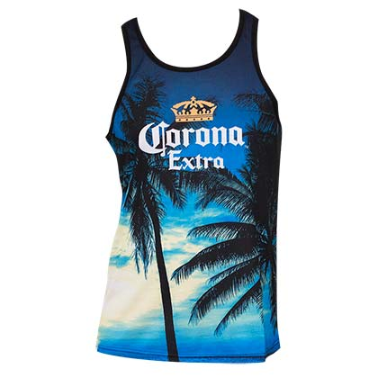 Men's Corona Sublimated Tank Top