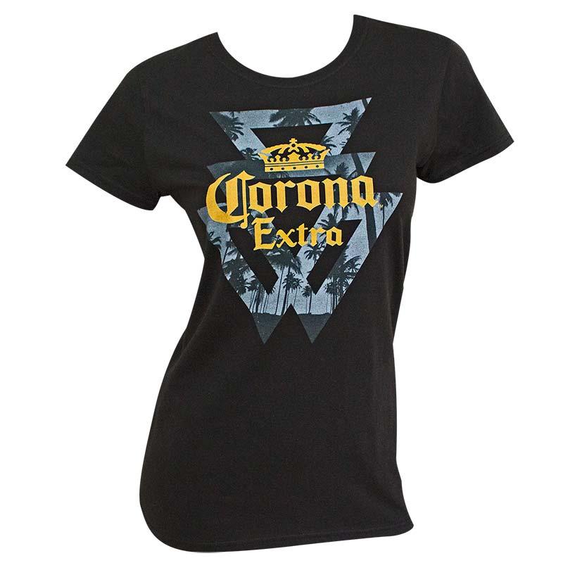 Corona Extra Triangles Logo Women's Tshirt