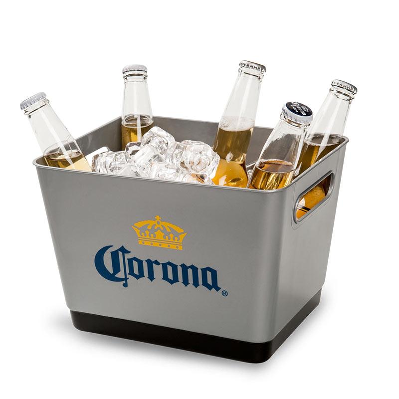 Corona Grey Cooler Bucket