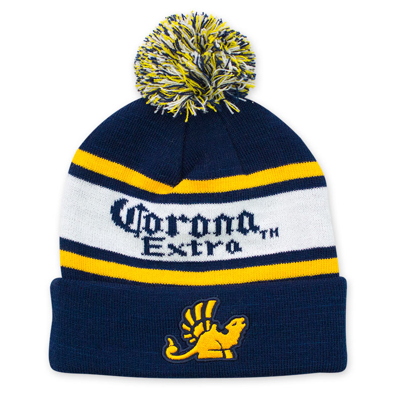 Corona Extra Winter Pom Beanie