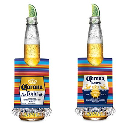 Corona Beer Poncho Can Cooler
