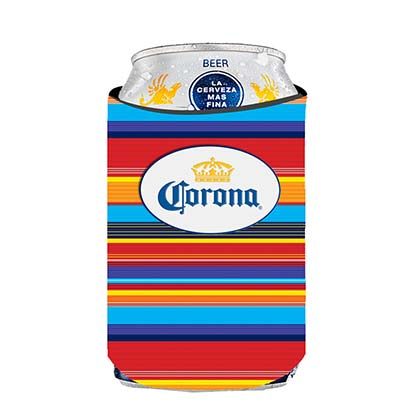 Corona Rainbow Can Cooler