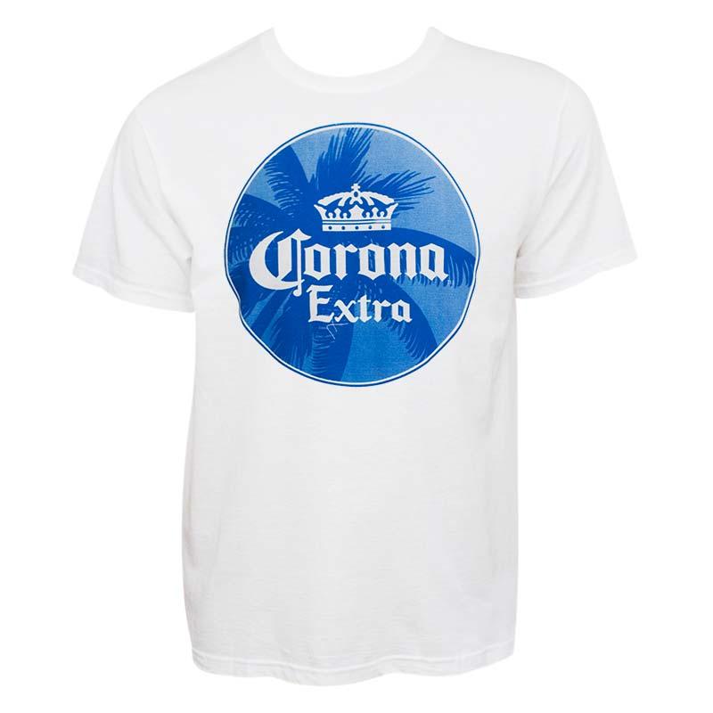 Corona Extra Palm Tree Logo Tee Shirt