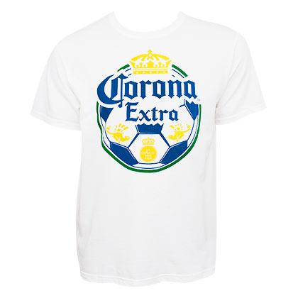 Corona Extra Soccer Ball Tshirt