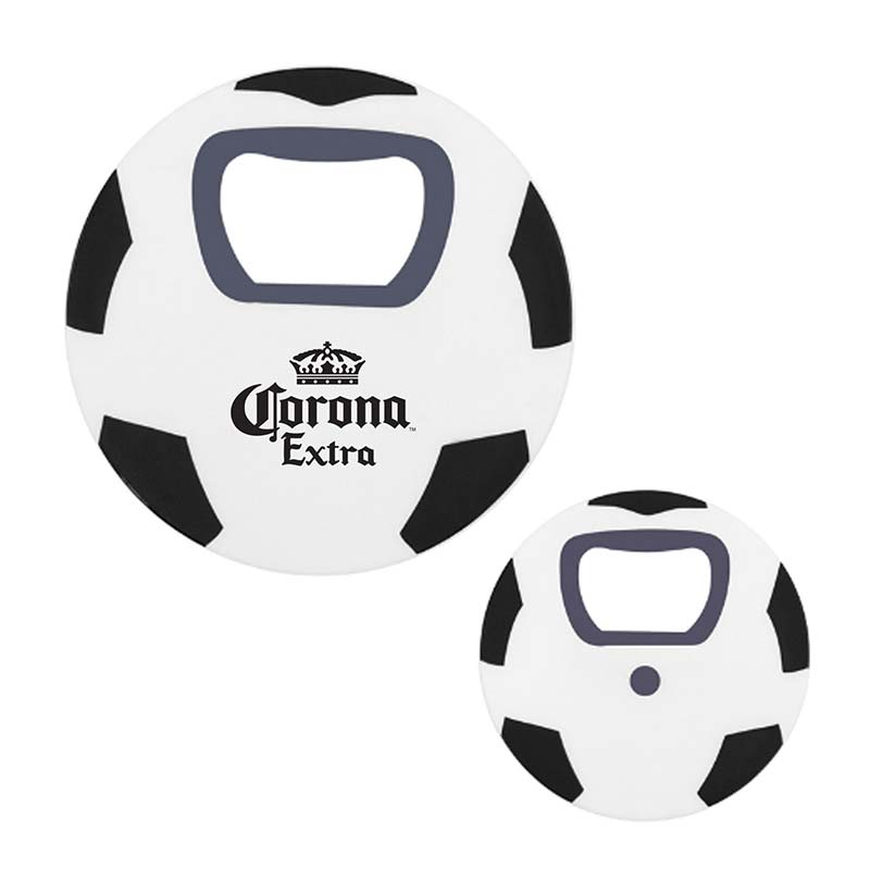 Corona Beer Soccer Ball Bottle Opener