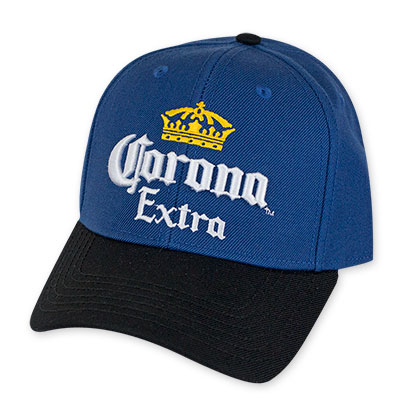Corona Extra Blue And Black Hat
