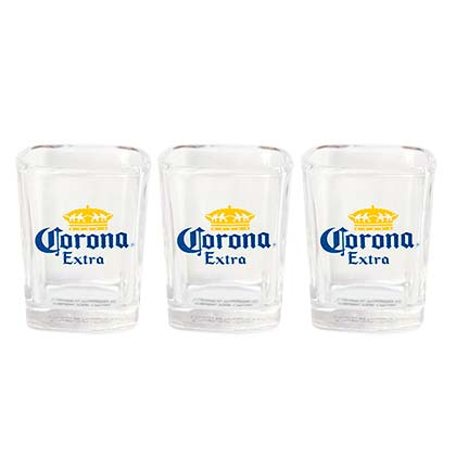 Corona Extra Square Shot Glass Pack