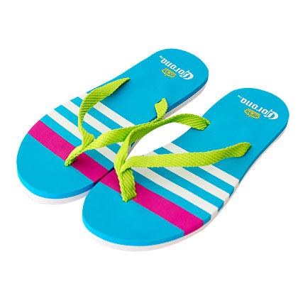 Corona Extra Aqua Women's Flip Flops
