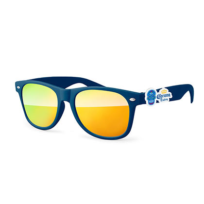 Corona Blue And Yellow Dia De Los Muertos Sunglasses