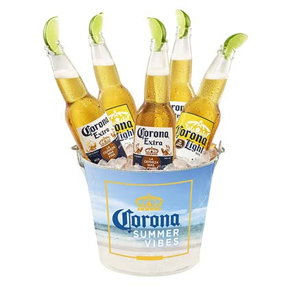 Corona Extra Bottle Opener Summer Vibes Beer Bucket