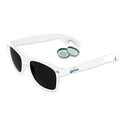 Corona Beer White Sunglasses Bottle Opener