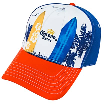 Corona Extra Surfboards Men's Hat