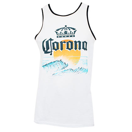 Corona Sun Logo Men's Tank Top