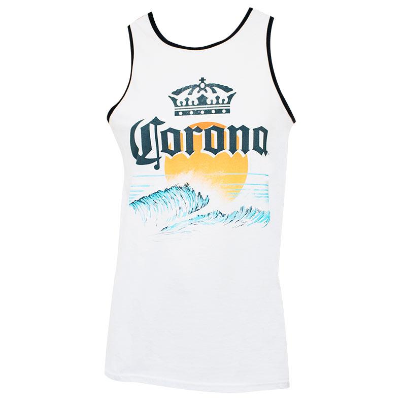Corona Sun Logo Men's Tank Top