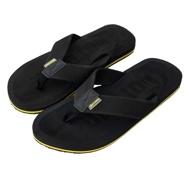 Corona Extra Men's Black Flip Flops