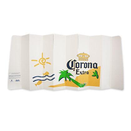 Corona Extra Cardboard Sun Shield