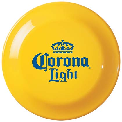 Corona Beer Yellow Frisbee