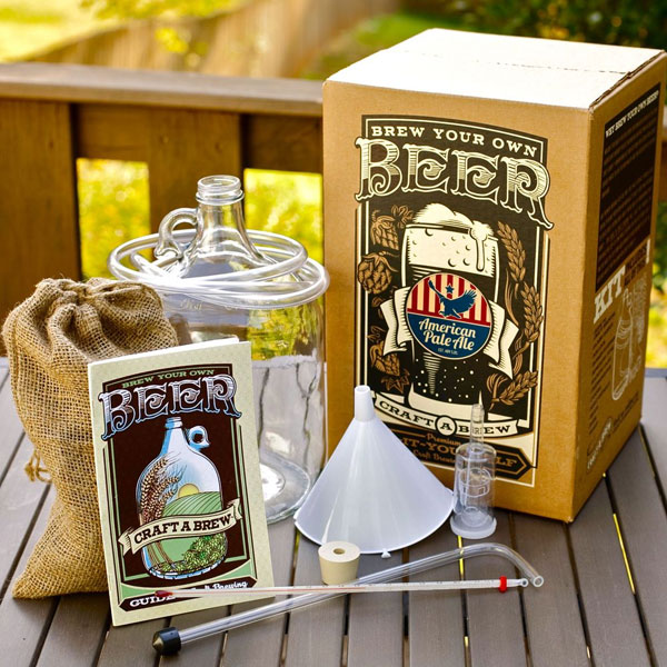 craft a brew beer brewing kit american pale ale. Black Bedroom Furniture Sets. Home Design Ideas