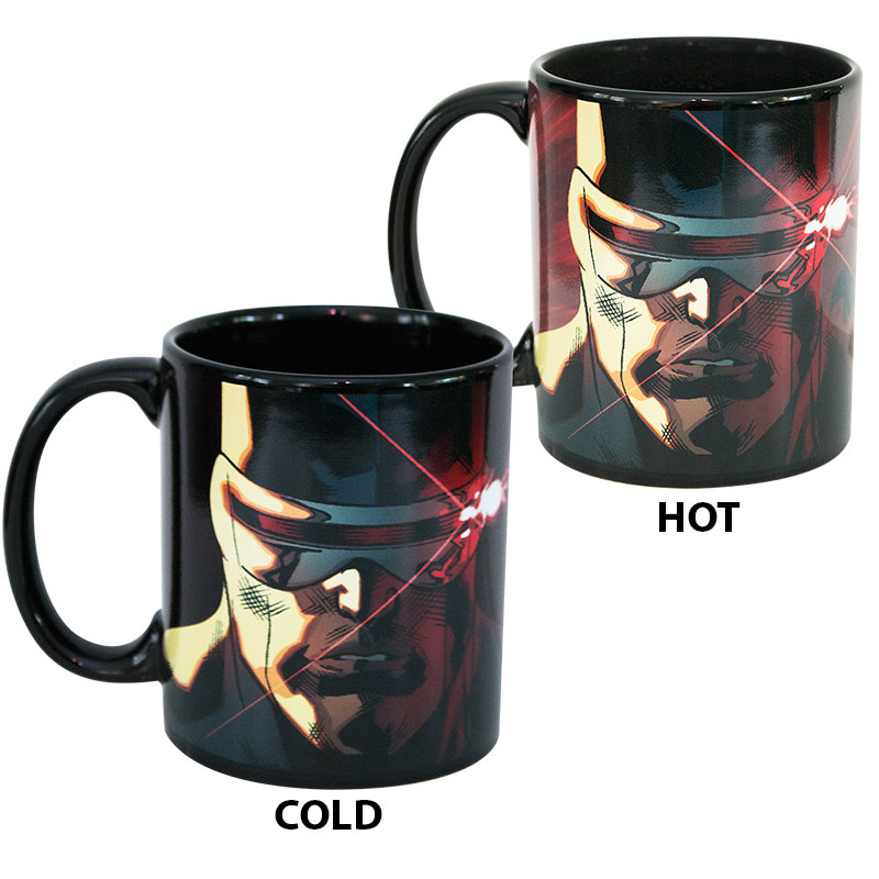 X-Men Black Cyclops Heat Changing Mug