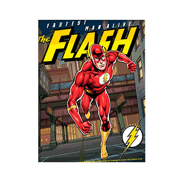 The Flash Comic Book 3D Matted Art