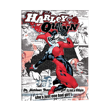 Batman Harley Quinn 3D Matted Art