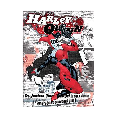 Batman Harley Quinn 3D Matted Art