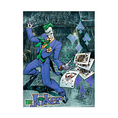 Batman Joker Wild 3D Matted Art