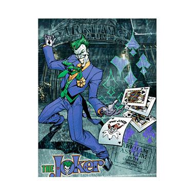 Batman Joker Wild 3D Matted Art