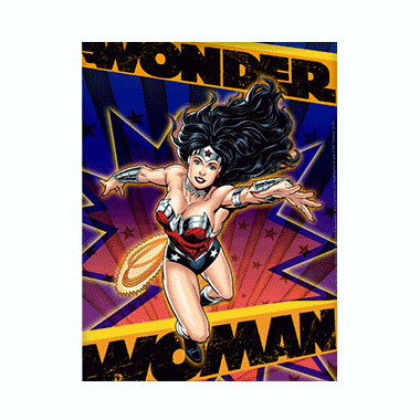 Wonder Woman 3D Matted Art