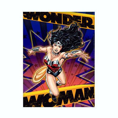 Wonder Woman 3D Matted Art