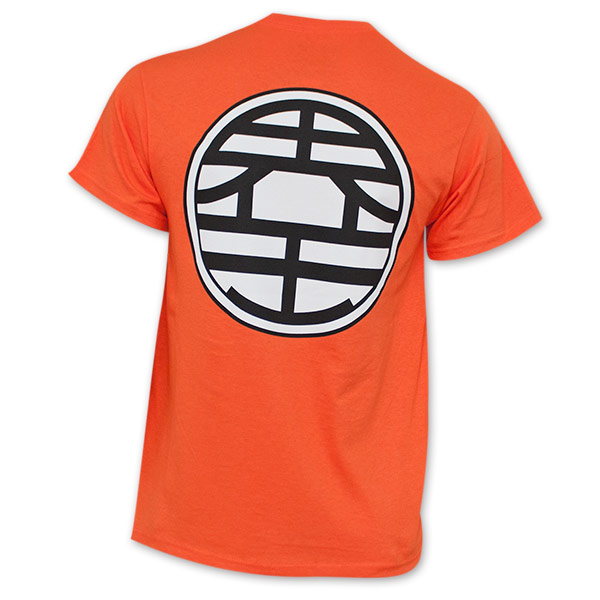 Dragon Ball Z Orange King Kai Goku Symbol T Shirt Tvmoviedepot