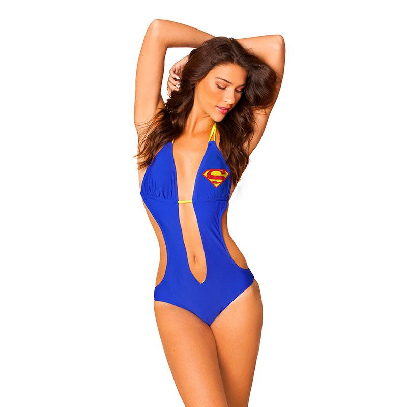 add4b2db40 item was added to your cart. Item. Price. Superman One-Piece Monokini Knot  Plunge Swimsuit