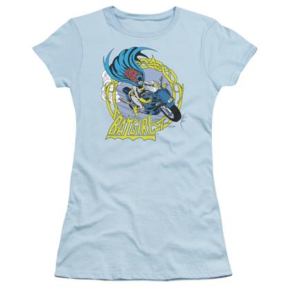 Batgirl Motorcycle Women's Tshirt