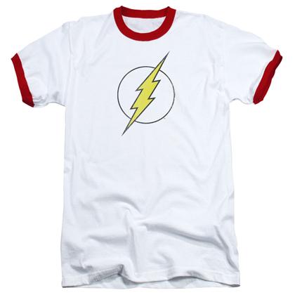 The Flash Logo Ringer Tshirt