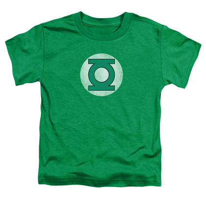 Green Lantern Distressed Logo Toddlers Tshirt