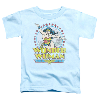 Wonder Woman Star Of Paradise Toddlers Tshirt