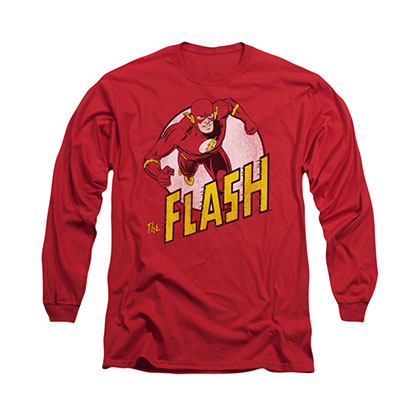 The Flash DC Comics Red Long Sleeve T-Shirt