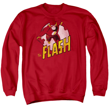 The Flash Sprinting Logo Crewneck Sweatshirt