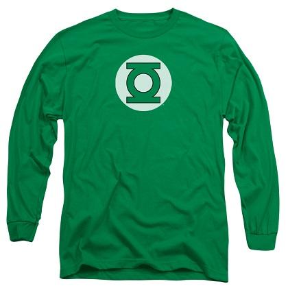 Green Lantern Logo Long Sleeve Tshirt