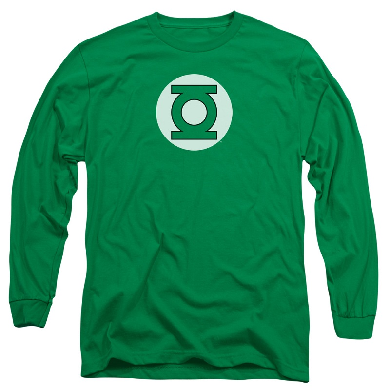Green Lantern Logo Long Sleeve Tshirt