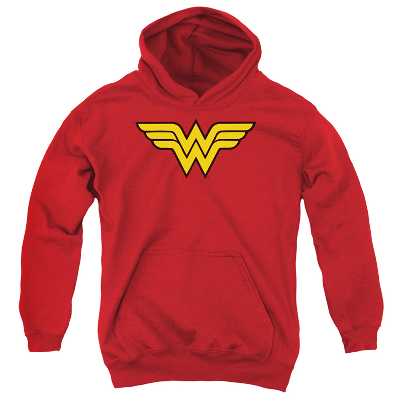 Wonder Woman Logo Youth Hoodie