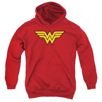 Wonder Woman Logo Youth Hoodie
